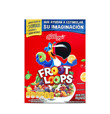 Cereal Froot Loops Kellogg's® - 410g