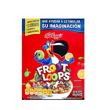 Fardo de Cereal Froot Loops Kellogg's® - 24x410g