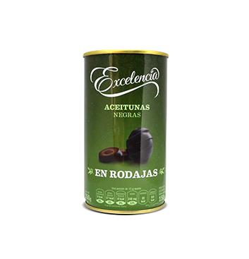 Aceitunas Negras en Rodajas Excelencia® - 350 g