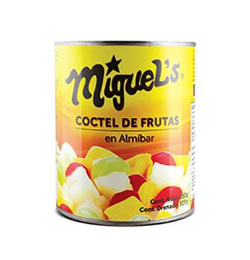 Coctel de Frutas en Almíbar Miguel's® - 850 g