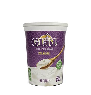 Yogurt Glad® estilo Bulgaro Natural - 900g
