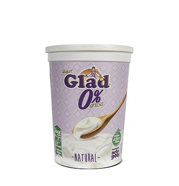 Yogurt Glad® estilo 0% grasa Natural - 900g