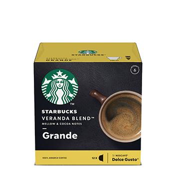 12 Cápsulas Veranda Blend Starbucks® - 102 g