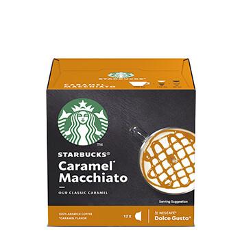 12 Cápsulas Caramel Macchiato Starbucks® - 128 g