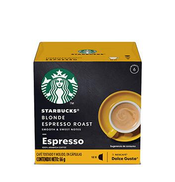 12 Cápsulas Blonde Espresso Roast Starbucks® - 66 g