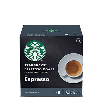 12 Cápsulas Dark Espresso Roast Starbucks® - 66 g