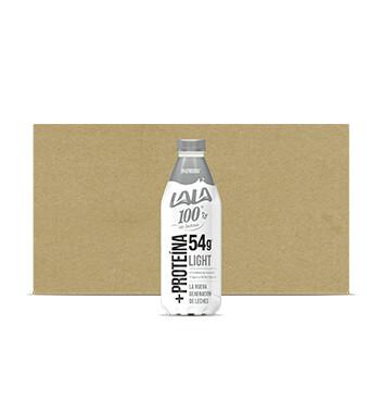 Caja Leche Lala 100 - +Proteína Light - 12 X 1 lt