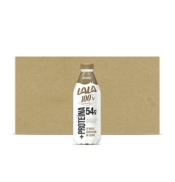 Caja Leche Lala 100 - +Proteína - 12 X 1 lt