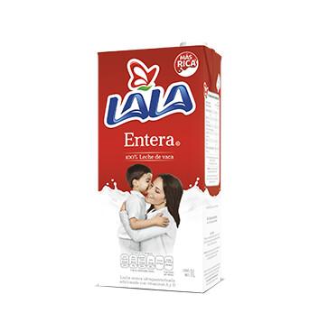 Leche Lala - Entera - 1Lt Slim C/Tapa