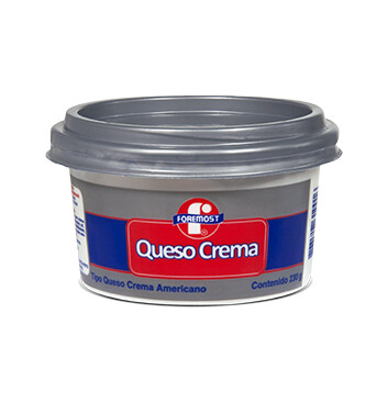Queso Crema Foremost 230 gr Tarro