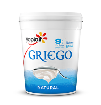 Yogurt Griego Yoplait® Sabor Natural - 1 Kg