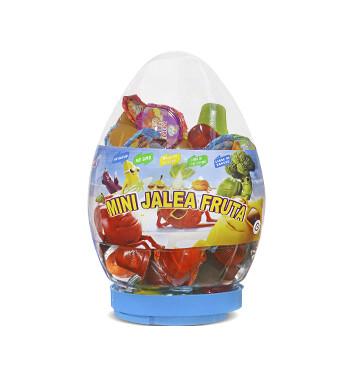 Mini Gelatinas Mini Fruity Gels® Tarro Huevo Tradicional