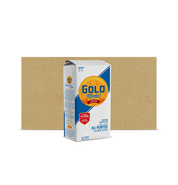 Fardo Harina de Trigo - Gold Medal - Kitchen Tested - 12 x 2 lbs
