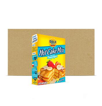 Fardo Mezcla Hot Cake - Molinos Modernos - Gold Medal Vainilla - 24 x 450g