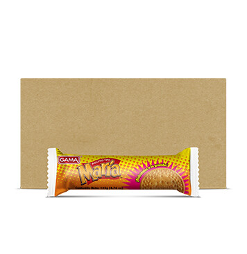 Caja Galletas Crackers Dulces - Molinos Modernos - Gama María Rollo - 20x1x135 g
