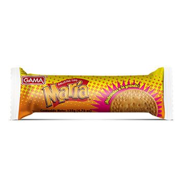 Galletas Crackers Dulces - Molinos Modernos - Gama Maria Rollo - 135g