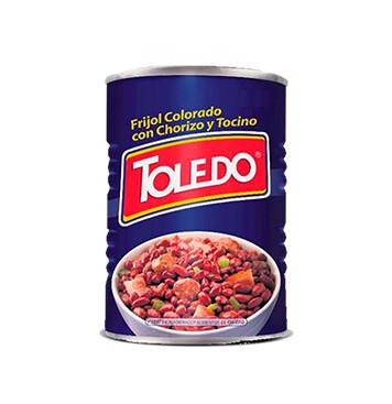 Frijoles Colorados Con Chorizo y Tocino - Molinos Modernos - Toledo - 15 oz