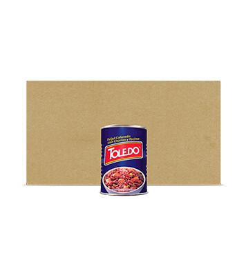 Caja Frijoles Colorados Con Chorizo y Tocino - Molinos Modernos - Toledo - 12 x 15 oz