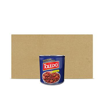 Caja Frijoles Colorados Con Chorizo y Tocino - Molinos Modernos - Toledo - 12 x 29 oz