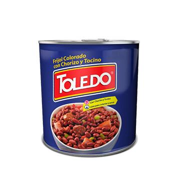 Frijoles Colorados Con Chorizo y Tocino - Molinos Modernos - Toledo - 29 oz