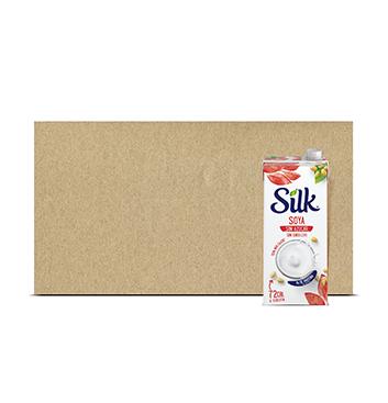Caja con Leche de Soya sin Azúcar Silk® - 6x946 ml