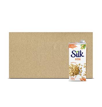 Caja con Leche de Avena Silk® - 6x946 ml