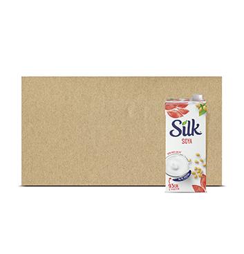 Caja con Leche de Soya Original Silk® - 6x946 ml