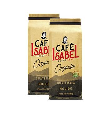 Café Isabel Orgánico - Molido - 400g 2X1