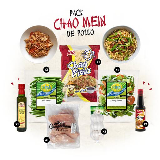 Pack Chao Mein de Pollo Selección del Chef®