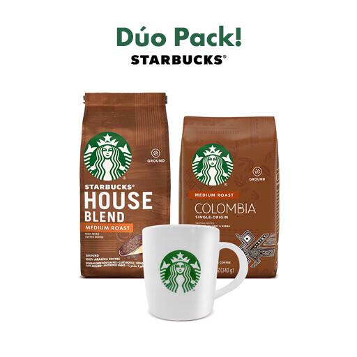 Duo Pack! Starbucks® + Taza Gratis