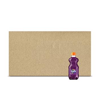 Fardo de Gaseosa Fanta® Uva PET - 12x355 ml