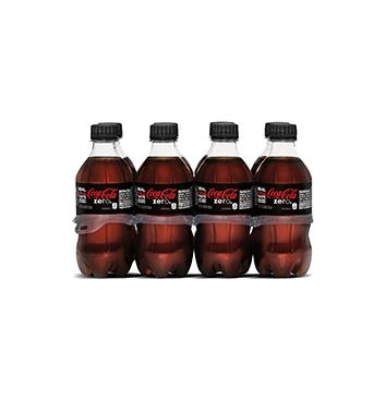8 Pack Coca Cola® Sin Azúcar PET - 8x355 ml