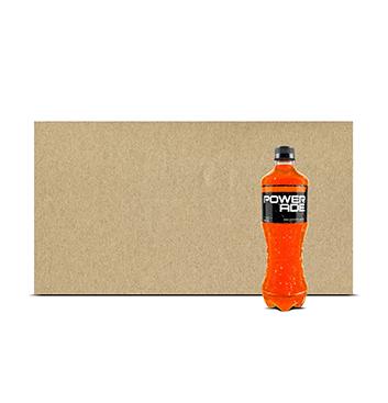 Fardo de Hidratante Powerade® Naranja PET - 12x600 ml