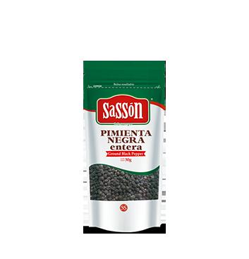 Pimienta Negra Entera Sasson® - 30g