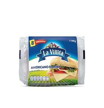 Queso Americano Blanco La Villita® - 140 g