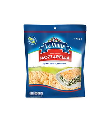 Queso Mozarella Rallado La Villita® - 450 g
