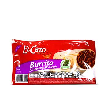 Burrito Deshebrada con Chipotle El Cazo® - 242 g