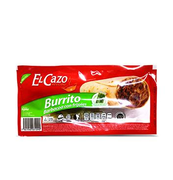 Burrito Barbacoa con Frijoles El Cazo® - 242 g