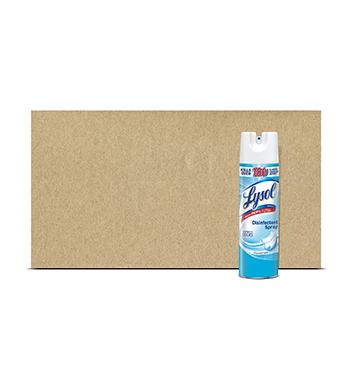 Caja de Spray Desinfectante Lysol® Crips Linen - 12x12.5 onzas