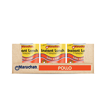 Caja de Sopa Instantánea Maruchán® Sabor Pollo - 12x64 g