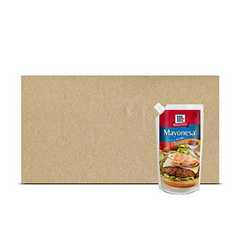 Caja de Mayonesa con Chile Chipotle McCormick® - 12x350 g