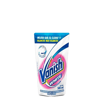 Quitamanchas Vanish® White - 500 ml