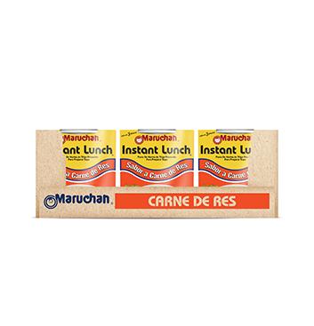 Caja de Sopa Instantánea Maruchán® Sabor Carne de Res - 12x64 g
