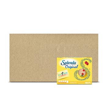 Caja de Endulzante Splenda® Original Heartland -12x100 g