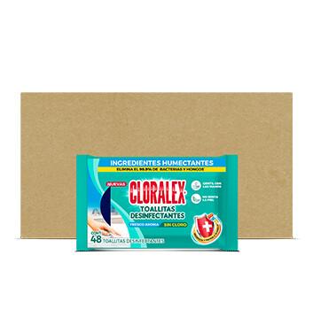 Wipes Flowpack  - Cloralex  -  48 toallitas -  212.40g