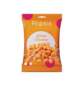 Popsis Queso Cheddar - 90g