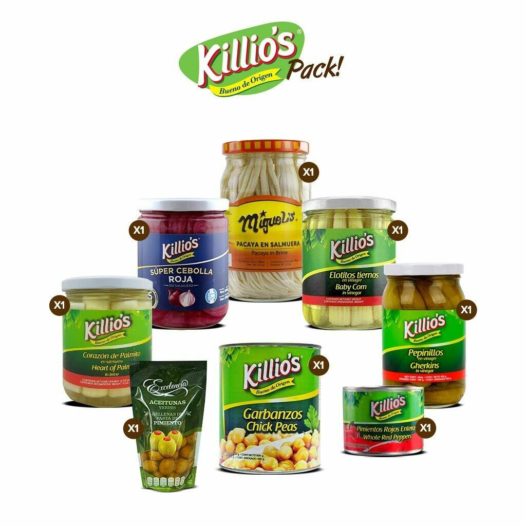 Killio's® Pack!
