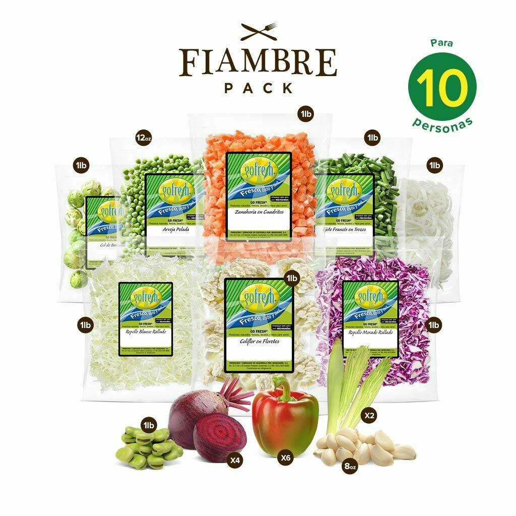 Fiambre Pack! Gofresh® - 10 personas