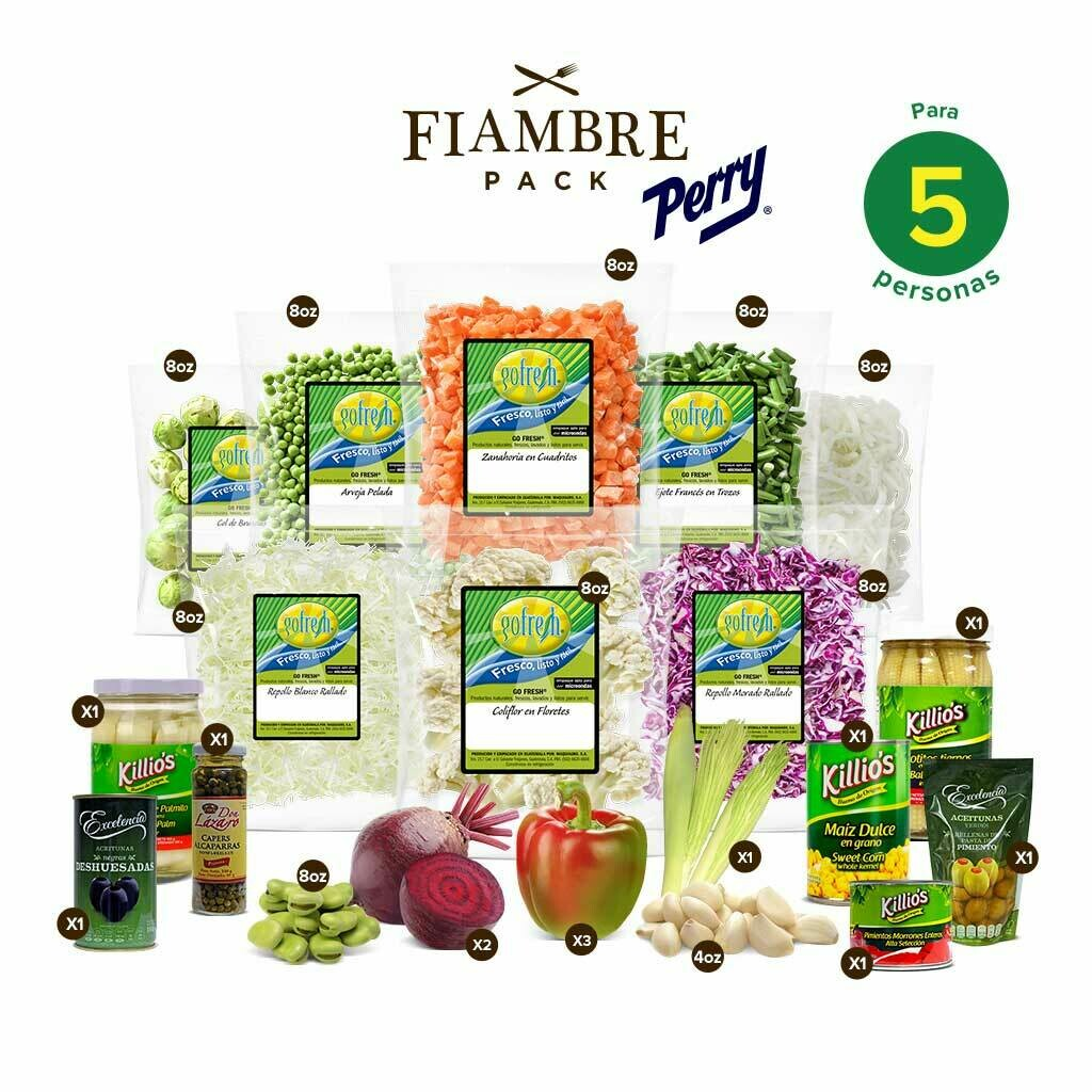 Fiambre Pack! Perry® - 5 Personas
