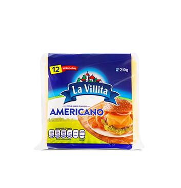 Queso Americano Amarillo La Villita® - 210 g
